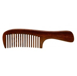 colourful Cocobolo handle comb, YHWAT0202