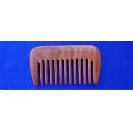 wide teeth Peru balsam pocket comb