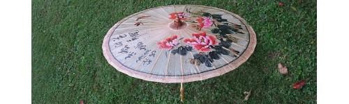 Chinesische Regenschirme